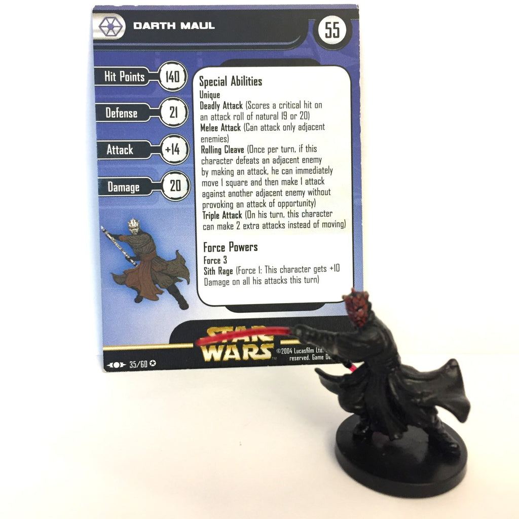 Star Wars Clone Strike #35 Darth Maul (VR) Miniature