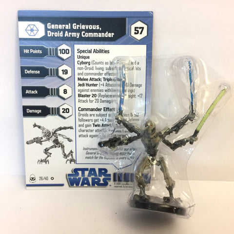Star Wars Clone Wars #26 General Grievous, Droid Army Commander (VR)