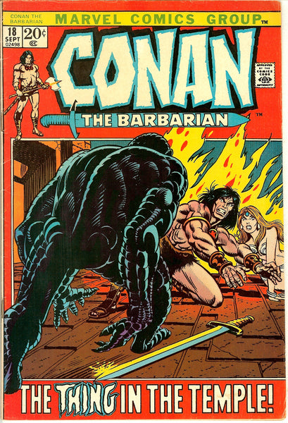 Conan the Barbarian Comics ( Lot of 6 ) Vintage 1971-73 (6.0 to 7.0)