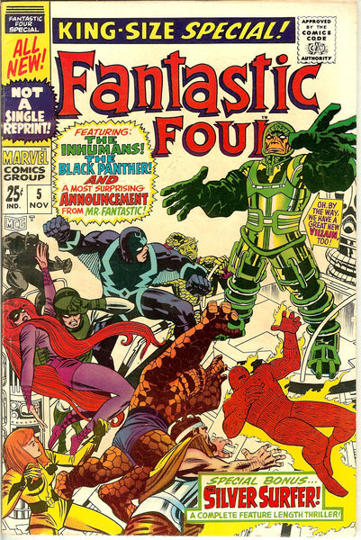 Fantastic Four King-Size Special #5 (1967) FN+ 6.5