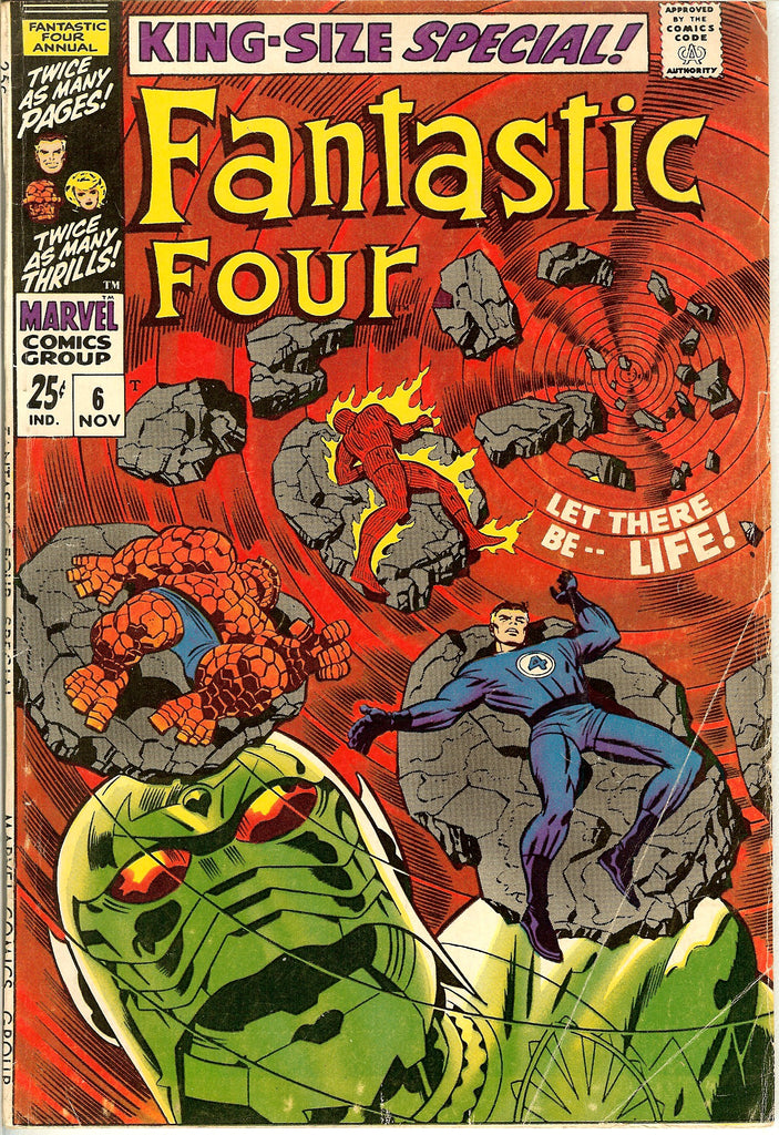 Fantastic Four King-Size Special #6 (1968) FN 6.0