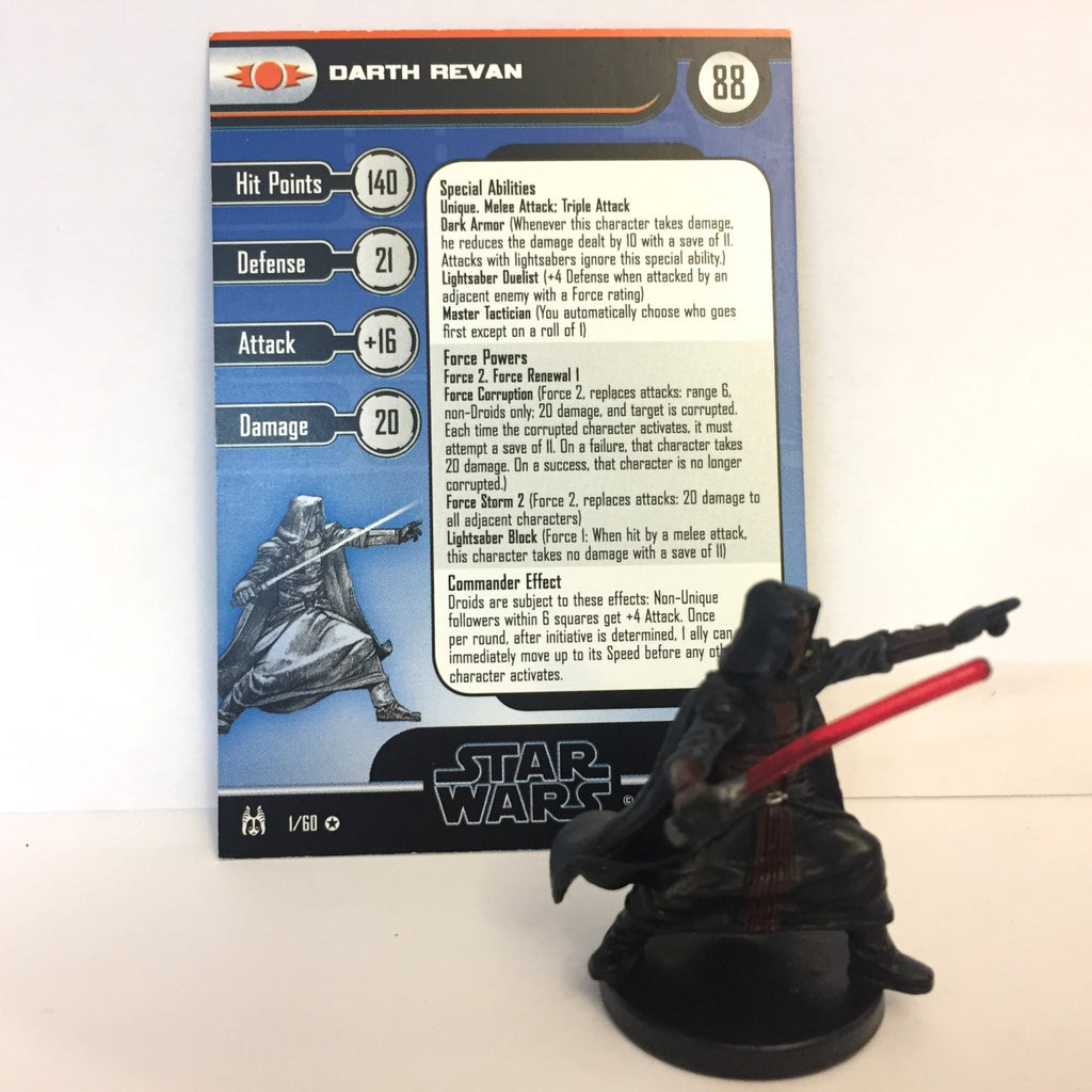 Star Wars Force Unleashed 01/60 Darth Revan (VR)