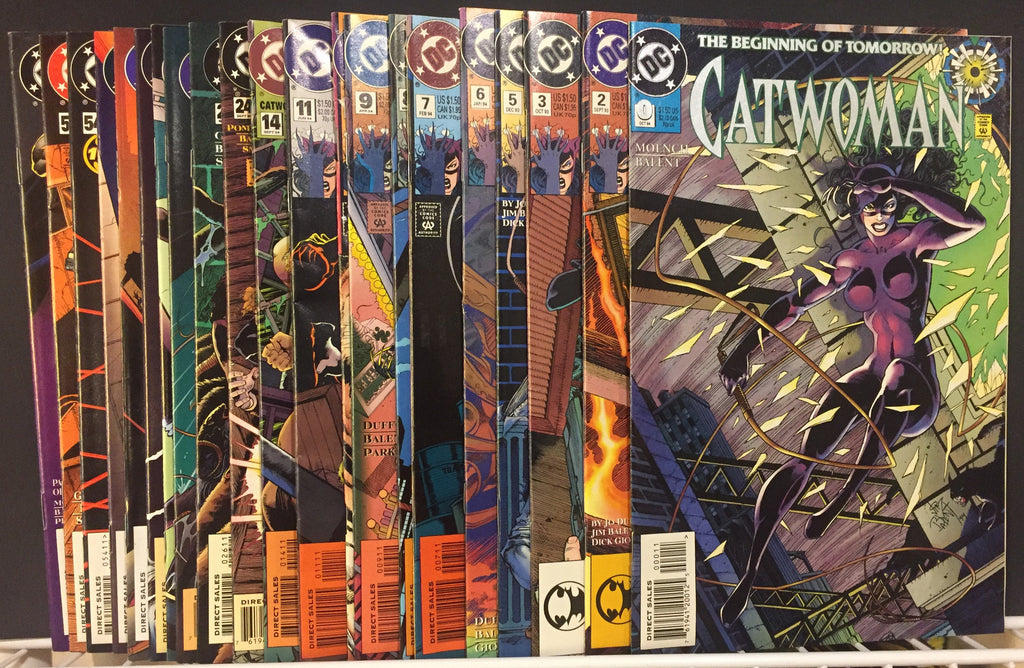 Value Pack ( 21 Comics ) Catwoman 1990's FREE SHIPPING