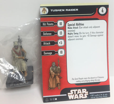 Star Wars Alliance & Empire 56/60 Tusken Raider (C) Miniature