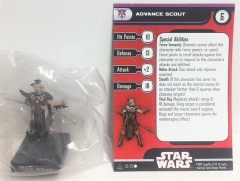 Star Wars Alliance & Empire 59/60 Advance Scout (C) Miniature