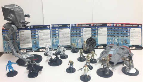 Star Wars Battle of Hoth Scenario Pack - (17 Miniatures)