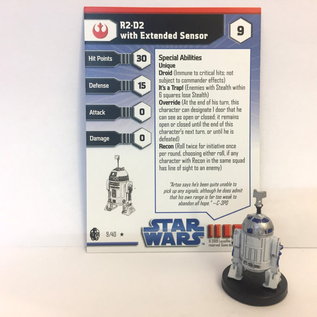 Star Wars Imperial Entanglements #9 R2-D2 with Extended Sensor (R)