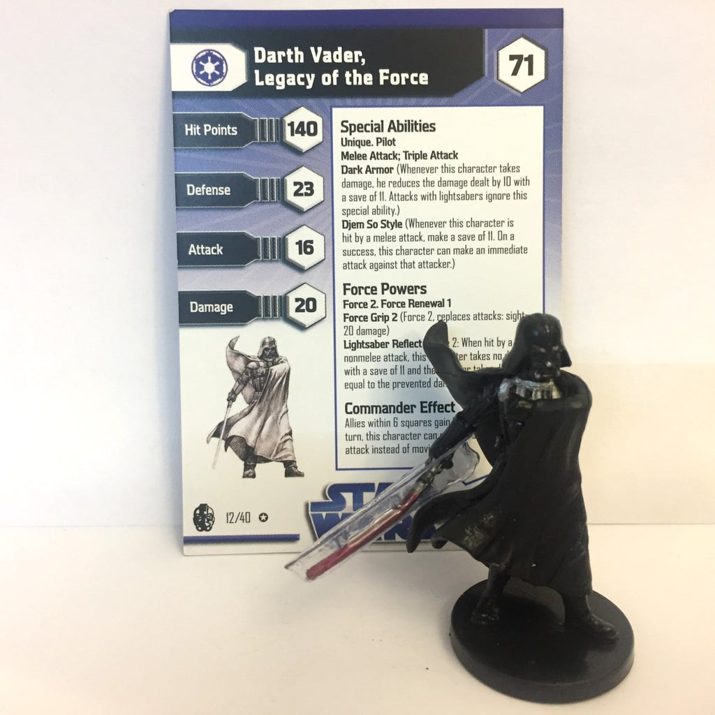 Star Wars Imperial Entanglements #12 Darth Vader, Legacy of the Force (VR)