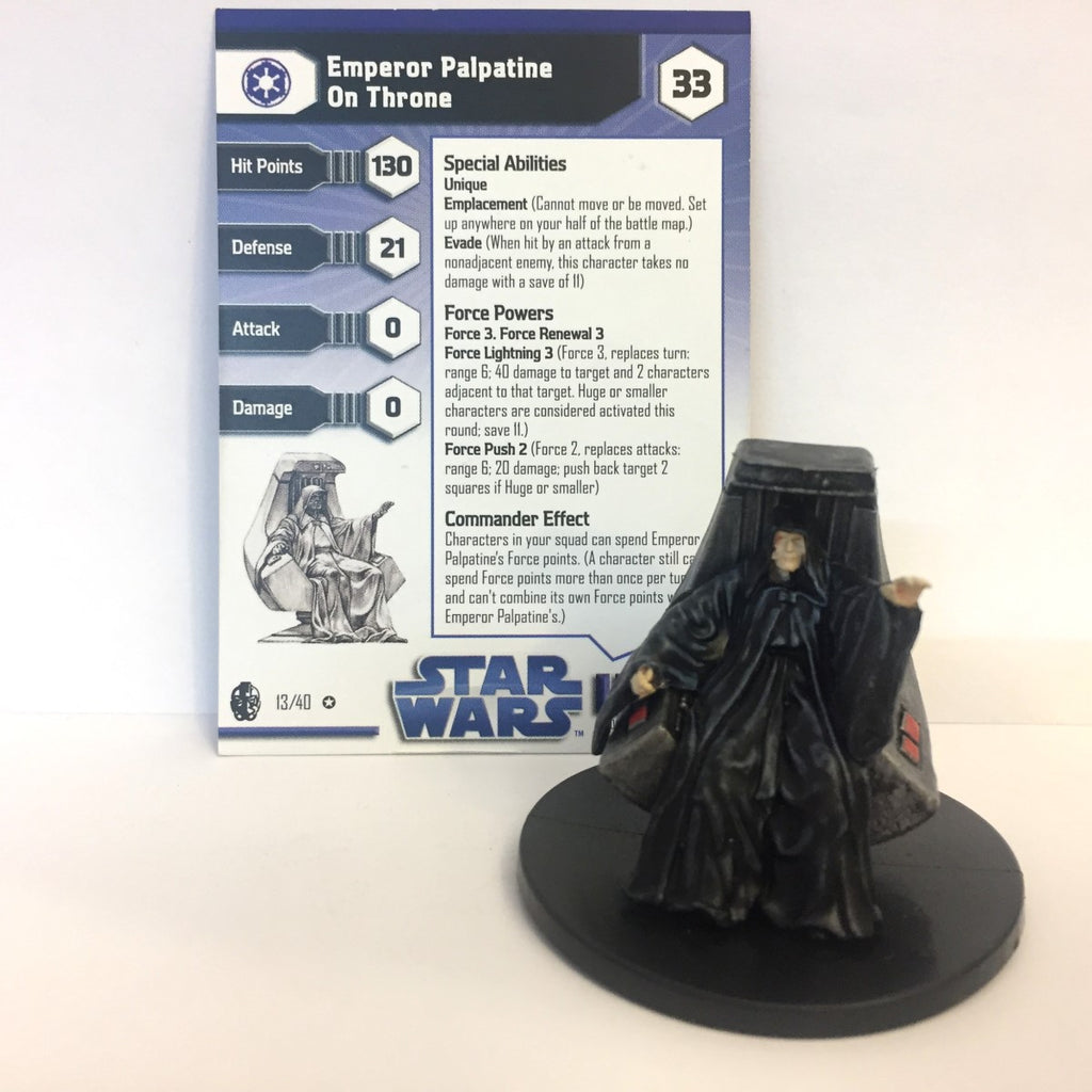 Star Wars Imperial Entanglements #13 Emperor Palpatine On Throne (VR)