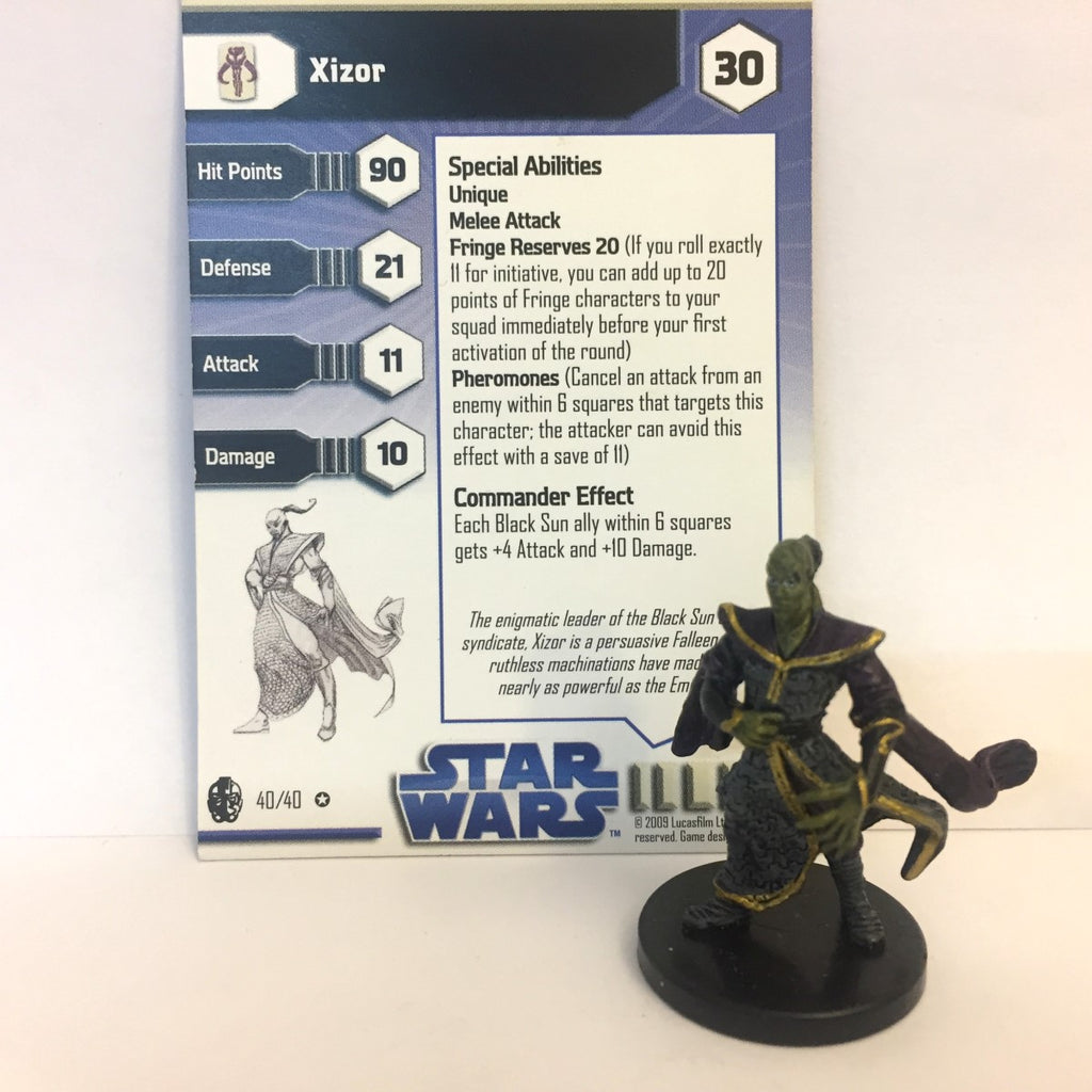 Star Wars Imperial Entanglements #40 Xizor (VR)