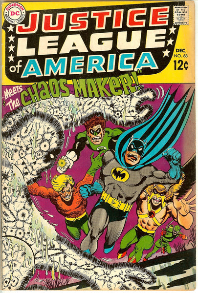 Justice League of America #68 (1968) VG+