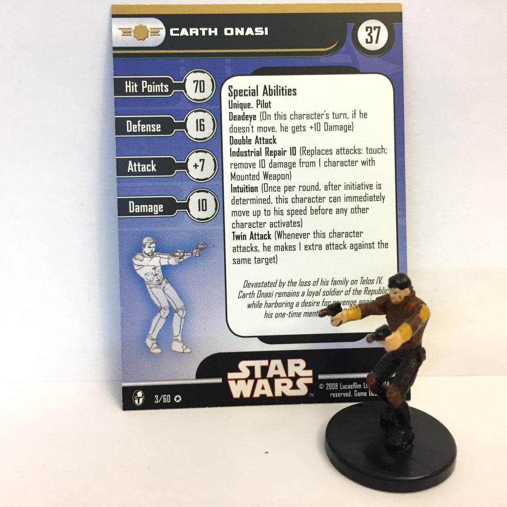 Star Wars Knights of the Old Republic 03/60 Carth Onasi (VR)