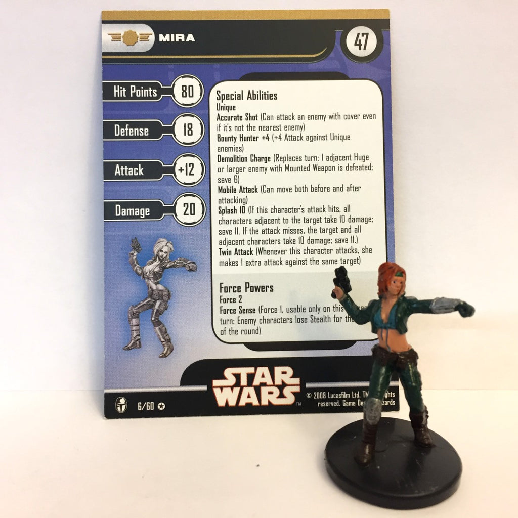 Star Wars Knights of the Old Republic 06/60 Mira (VR)