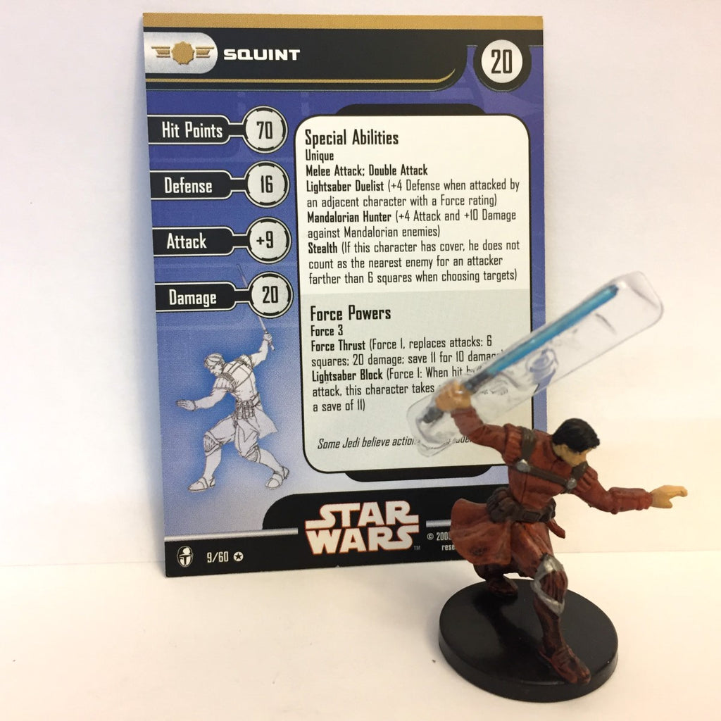 Star Wars Knights of the Old Republic 09/60 Squint (VR)