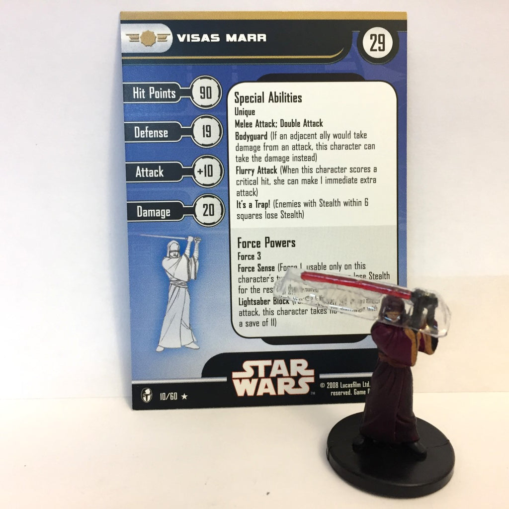 Star Wars Knights of the Old Republic 10/60 Visas Marr (R)
