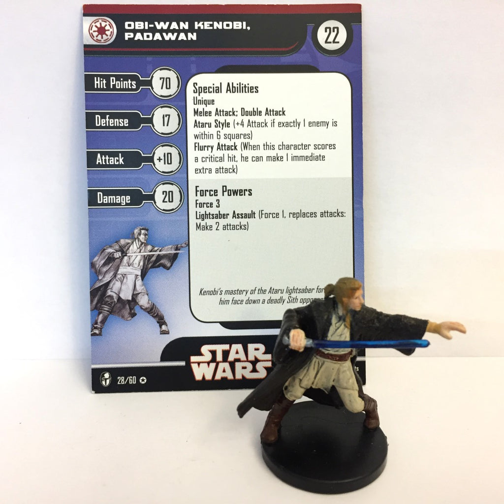 Star Wars Knights of the Old Republic 28/60 Obi-Wan Kenobi Padawan (VR)