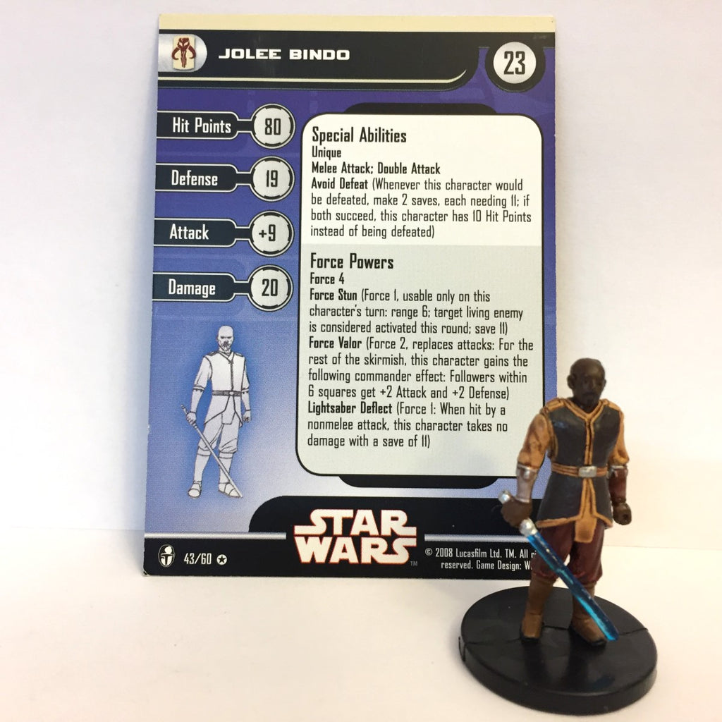 Star Wars Knights of the Old Republic 43/60 Jolee Bindo (VR)