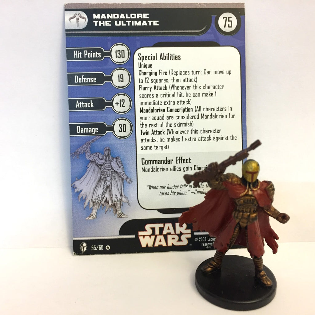 Star Wars Knights of the Old Republic 55/60 Mandalore The Ultimate (VR)
