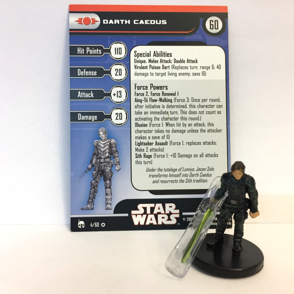 Star Wars Legacy of the Force 04/60 Darth Caedus (VR)