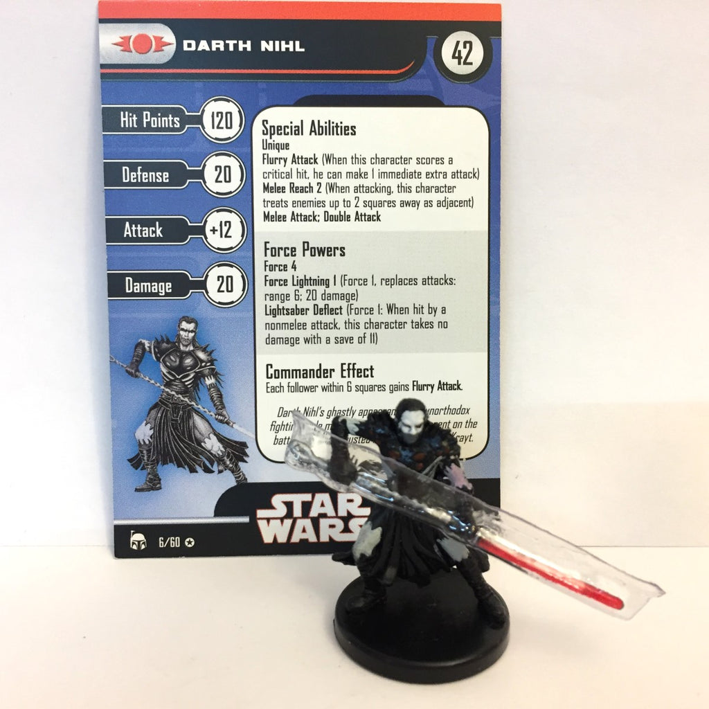 Star Wars Legacy of the Force 06/60 Darth Nihl (VR)