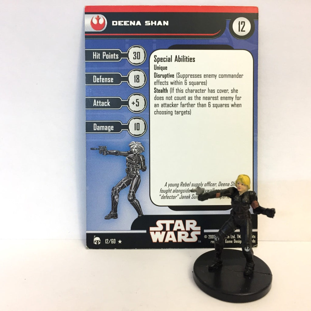 Star Wars Legacy of the Force 12/60 Deena Shan (R)