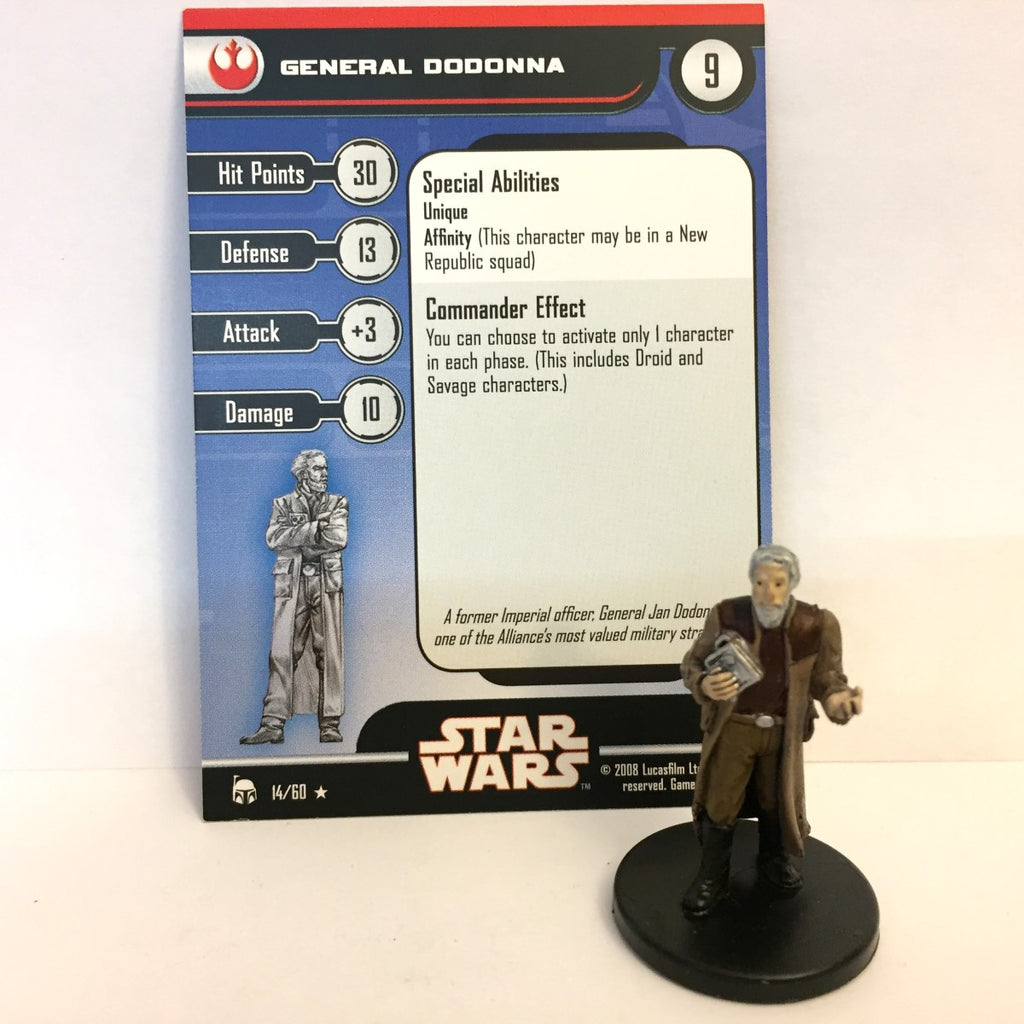 Star Wars Legacy of the Force 14/60 General Dodonna (R)