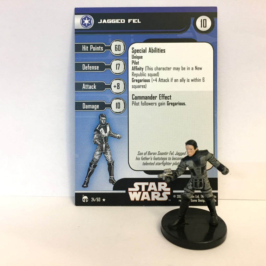Star Wars Legacy of the Force 24/60 Jagged Fel (R)