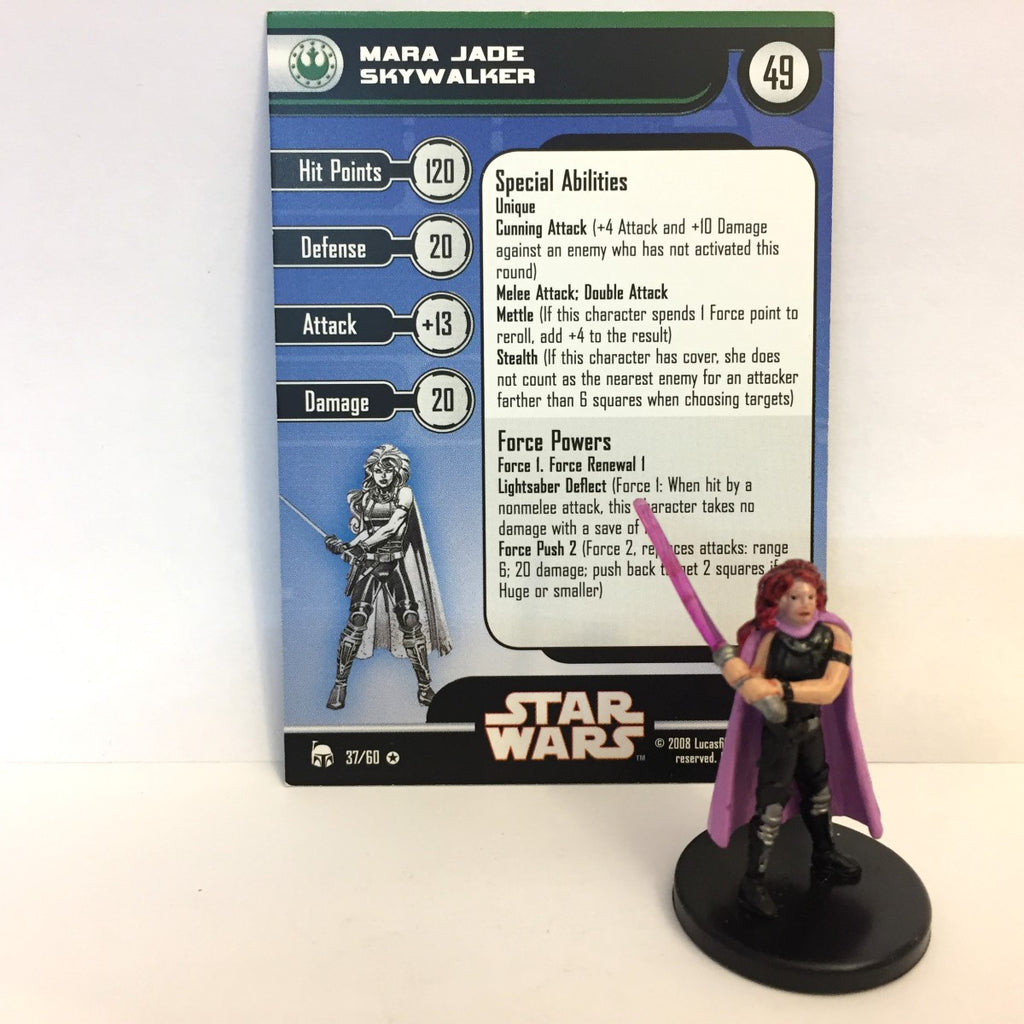 Star Wars Legacy of the Force 37/60 Mara Jade Skywalker (VR)