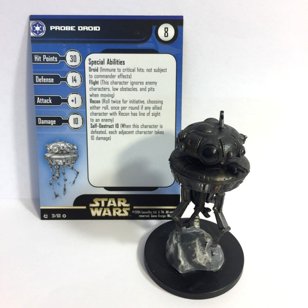 Star Wars Rebel Storm #31 Probe Droid (VR) Miniature