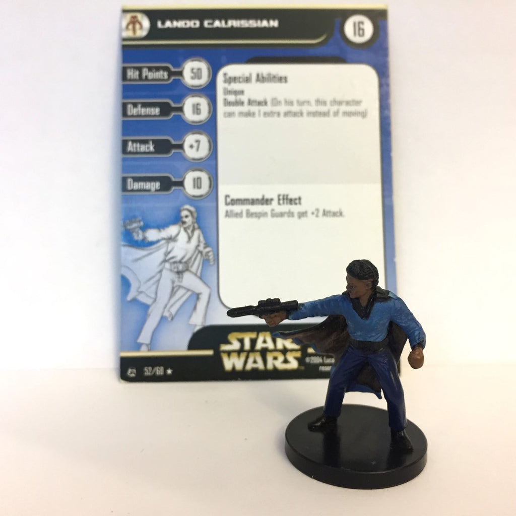 Star Wars Rebel Storm #52 Lando Calrissian (R) Miniature