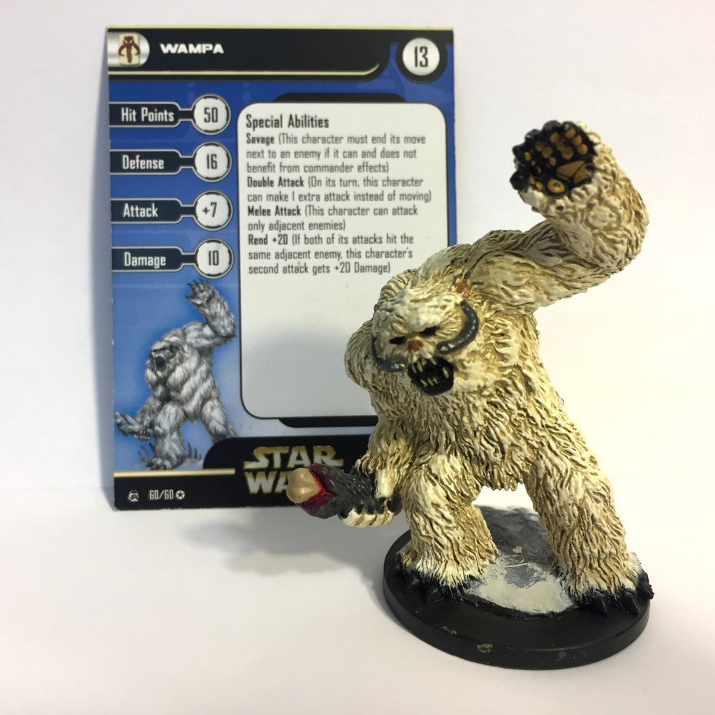 Star Wars Rebel Storm #60 Wampa (VR) Miniature