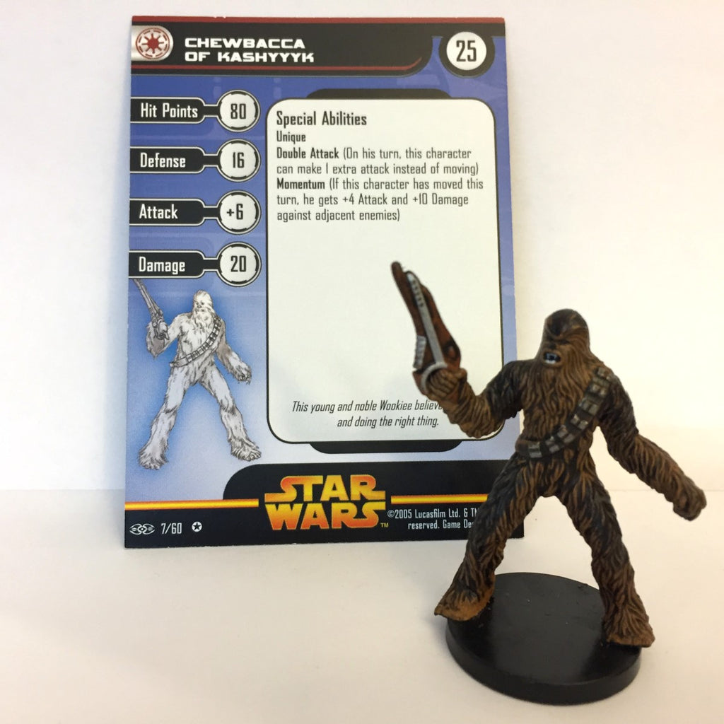 Star Wars Revenge of the Sith #7 Chewbacca of Kashyyyk (VR) Miniature