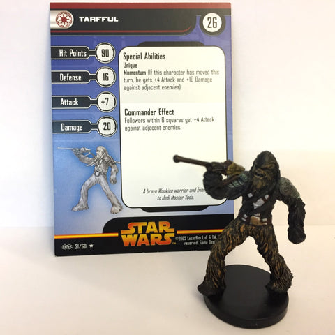 Star Wars Revenge of the Sith #21 Tarfful (R) Miniature