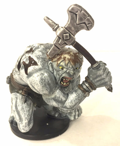 D&D Miniatures Underdark 51/60 Hunched Giant (R) NO CARD