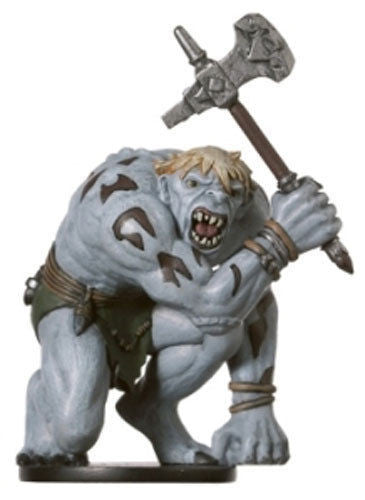 D&D Miniatures Underdark 51/60 Hunched Giant (R)
