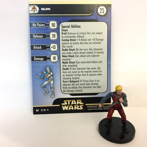 Star Wars Universe #19 Guri (R) Miniature