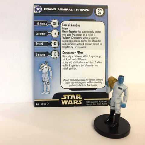 Star Wars Universe #38 Grand Admiral Thrawn (VR) Miniature