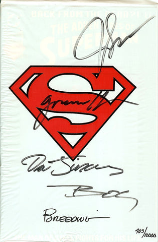 Adventures of Superman #500 Signed Numbered 403/10,000 COA