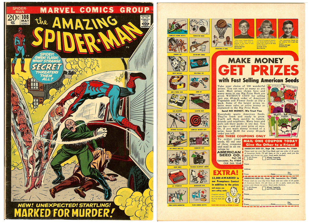 Amazing Spider-Man #108 (1972) FN