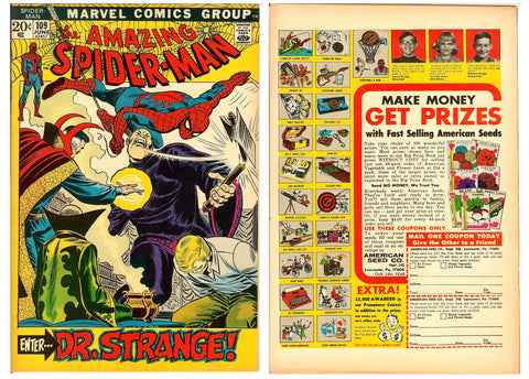 Amazing Spider-Man #109 (1972) FN+
