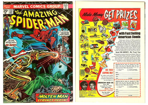 Amazing Spider-Man #132 (1974) FN+