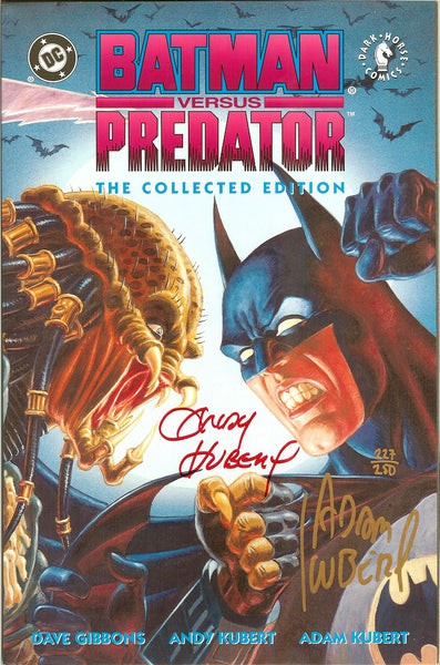 Batman Versus Predator The Collected Ed TPB 1992 1st Print NM Signed COA 227/250