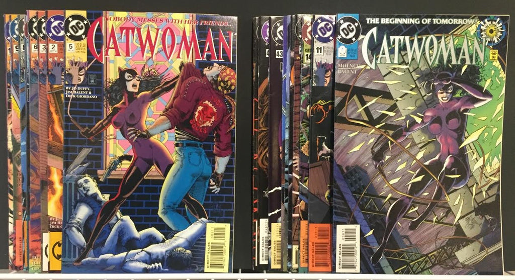 Value Pack ( 20 Comics ) Catwoman 1990's FREE SHIPPING
