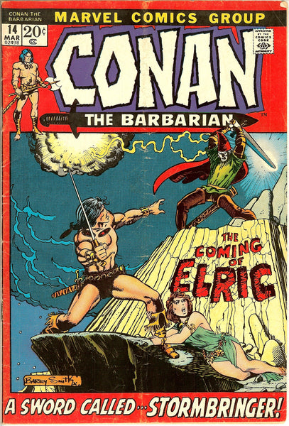 Conan the Barbarian Comics ( Lot of 8 ) Vintage 1971-72 (5.0 to 6.0+)