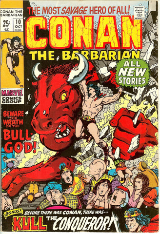 Conan the Barbarian #10 (1971) VF 8.0