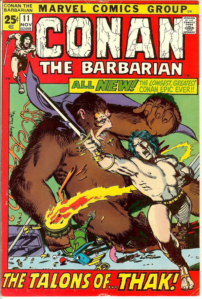 Conan the Barbarian #11 (1971) FN-VF 7.0