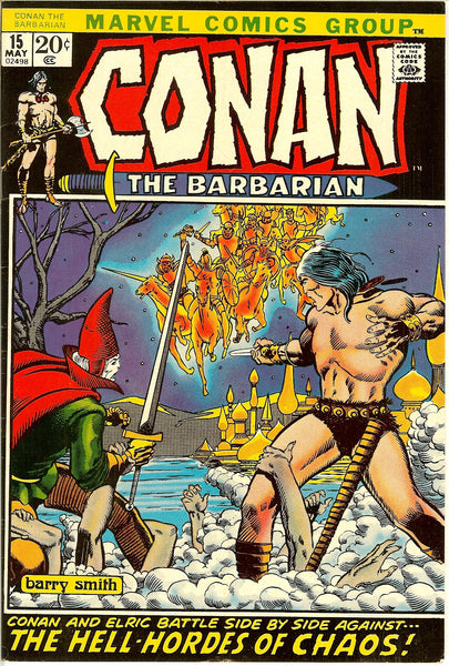 Conan the Barbarian #15 (1972) FN-VF 7.0