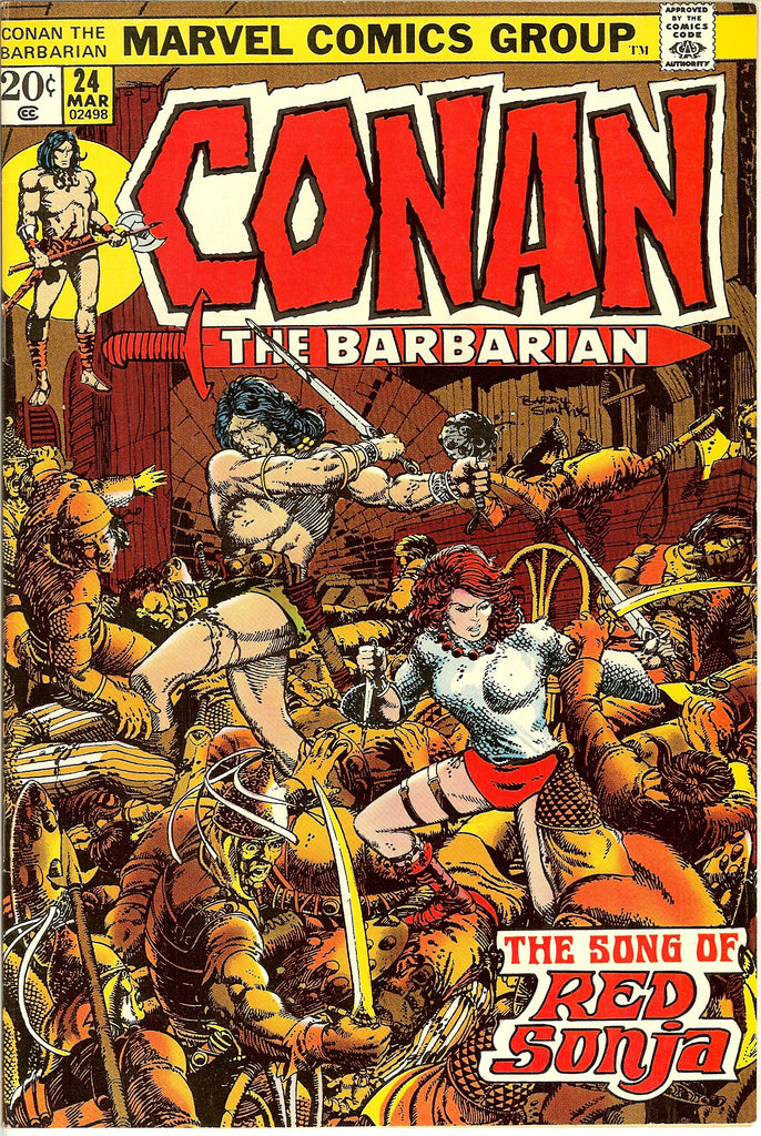 Conan the Barbarian #24 (1973) VF 8.0