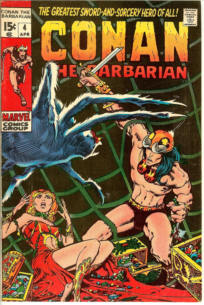 Conan the Barbarian #4 (1971) VF 8.0