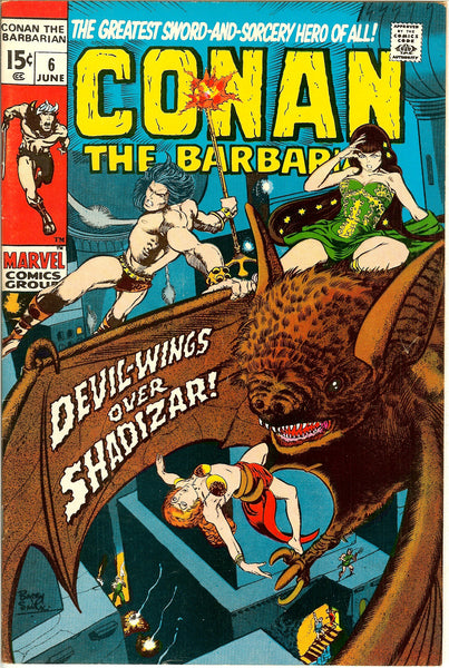 Conan the Barbarian #6 (1971) VF 8.0
